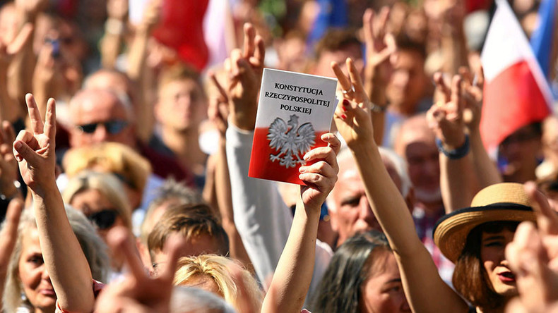 POLAND: Law on Assemblies changed by the Law Amending Law od Assemblies of 13 December 2016