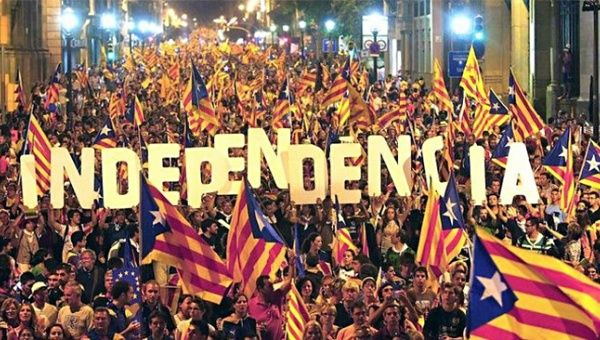 SPAIN: Politically-motivated violent incidents in favour of Spanish unity recorded in Catalonia between 8 September and 11 December 2017