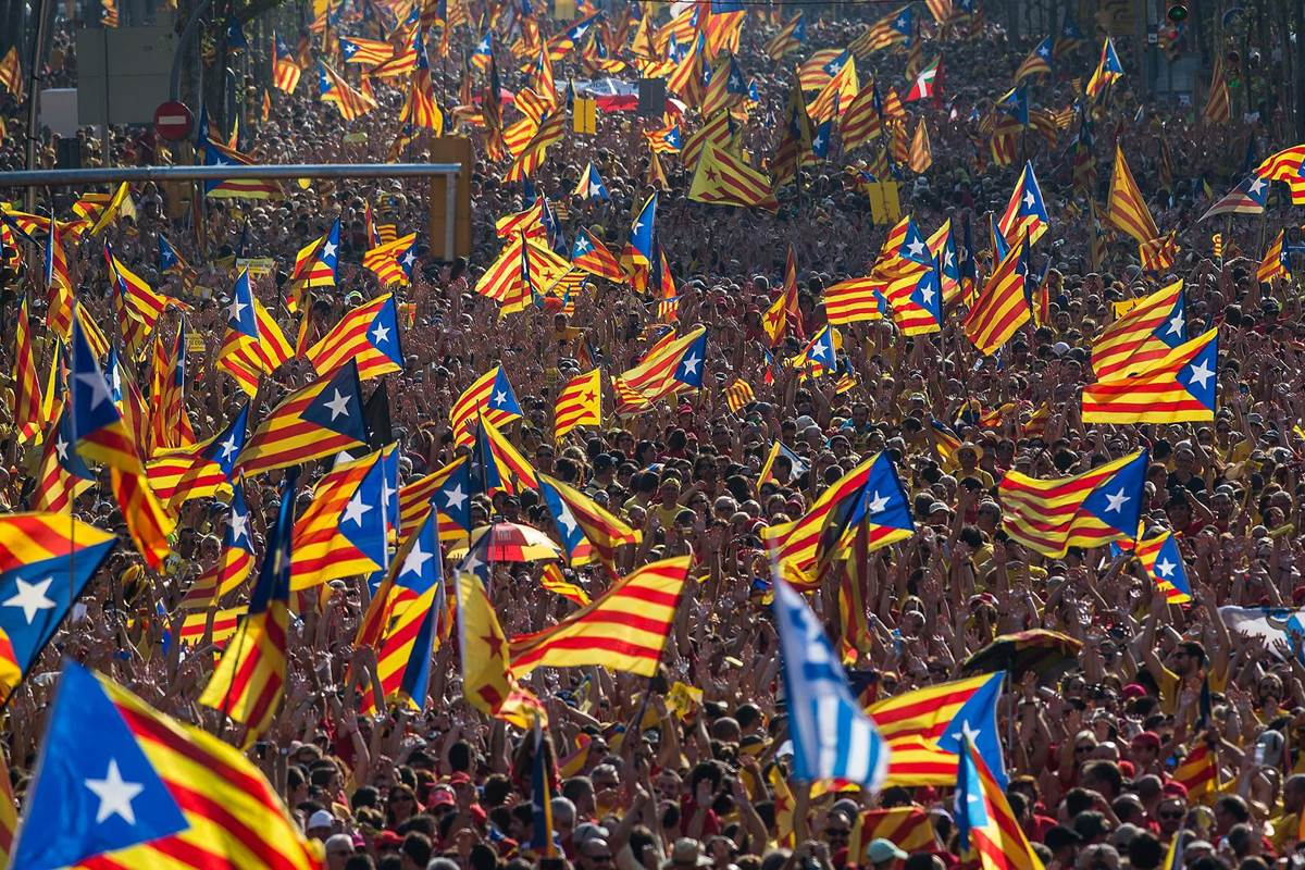 SPAIN: detention of secessionist leaders sparks large protests in Catalonia