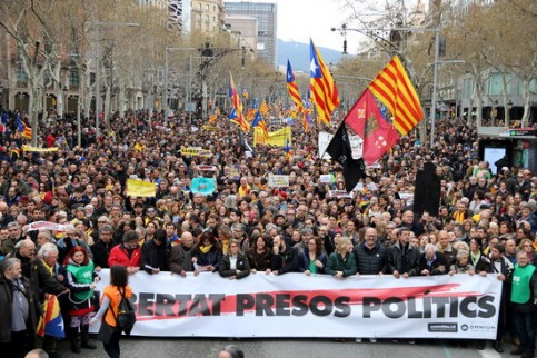 SPAIN: UN expert urges not to pursue criminal charges of rebellion against political figures in Catalonia