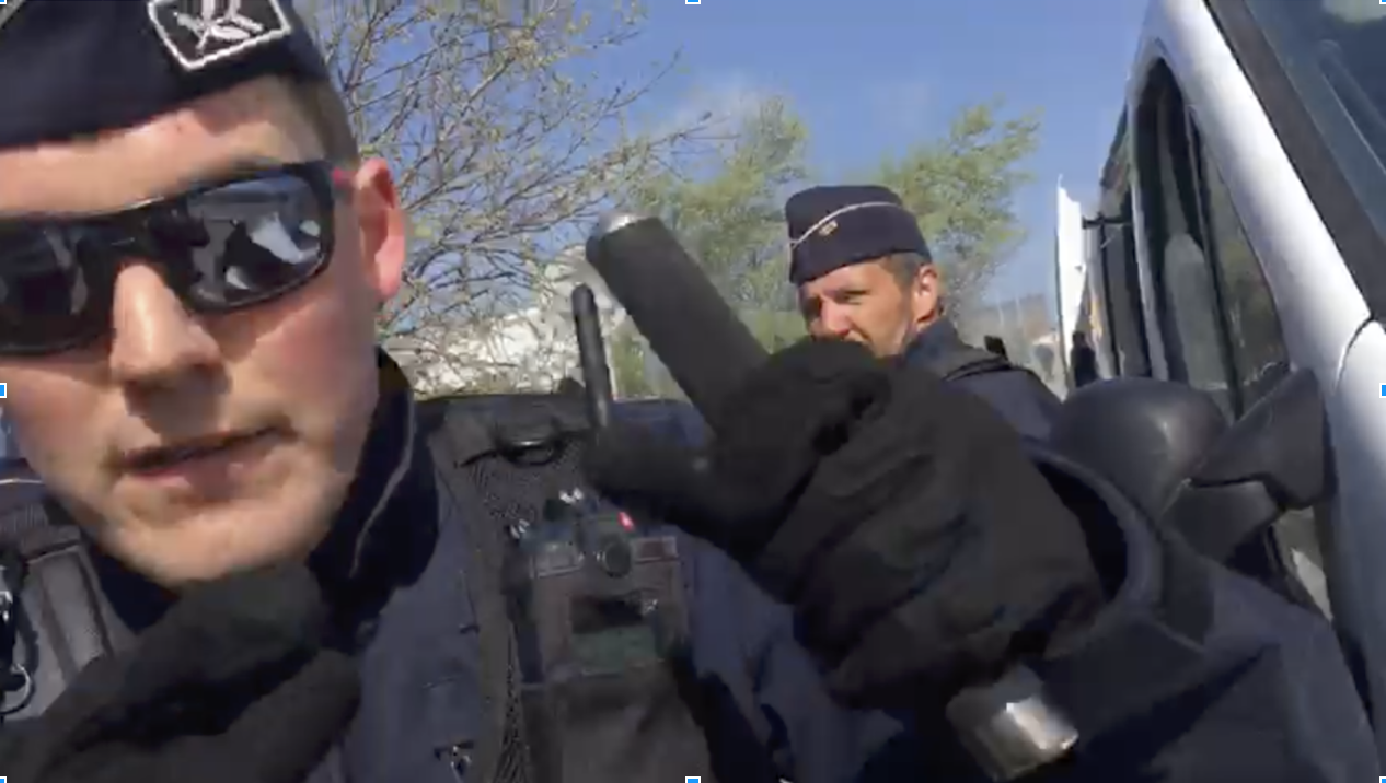 FRANCE: Report reveals excessive police violence and intimidation of aid workers in the North