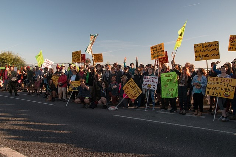 UNITED KINGDOM: Environmental protests continue as fracking companies seek court injunction