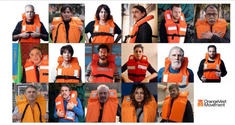 Orange Vest Movement: international solidarity with Mediterranea and all sea rescuers