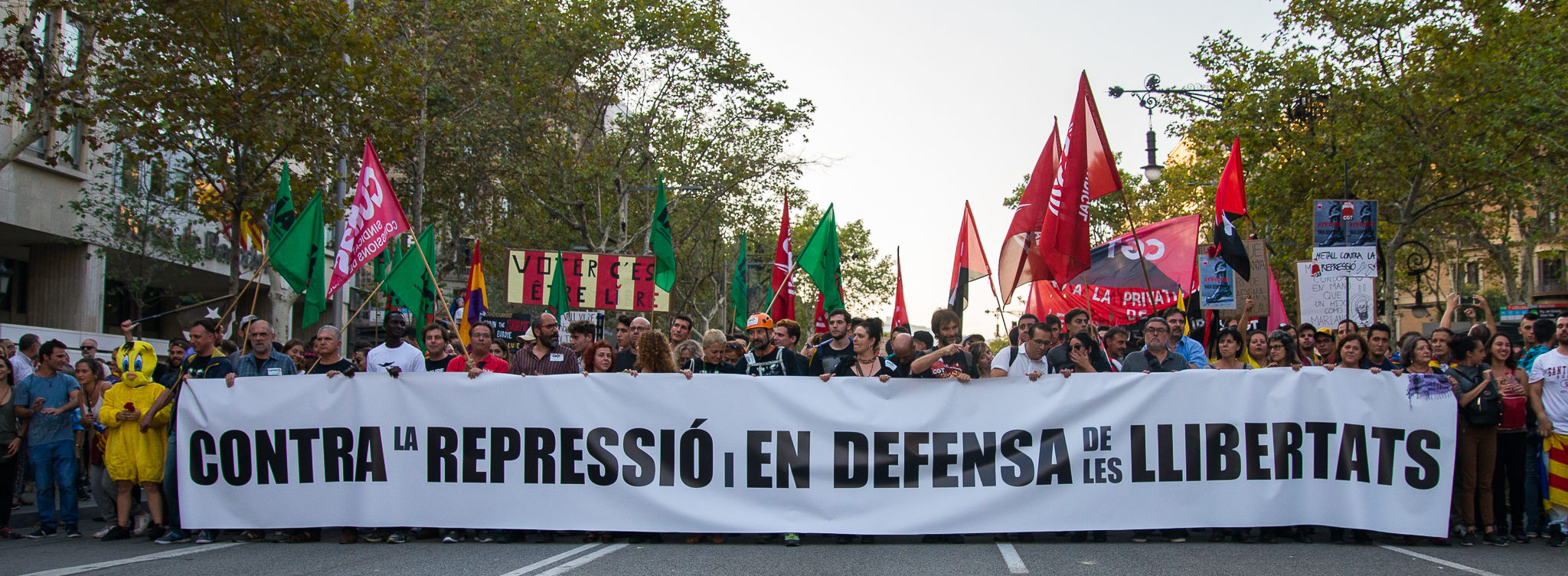 SPAIN: The right to protest in Spanish Courts – Statement by the International Trial Watch