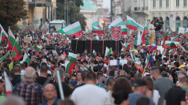 BULGARIA – Protests Continue Peacefully after Tension Escalated in Sofia on the Second of September