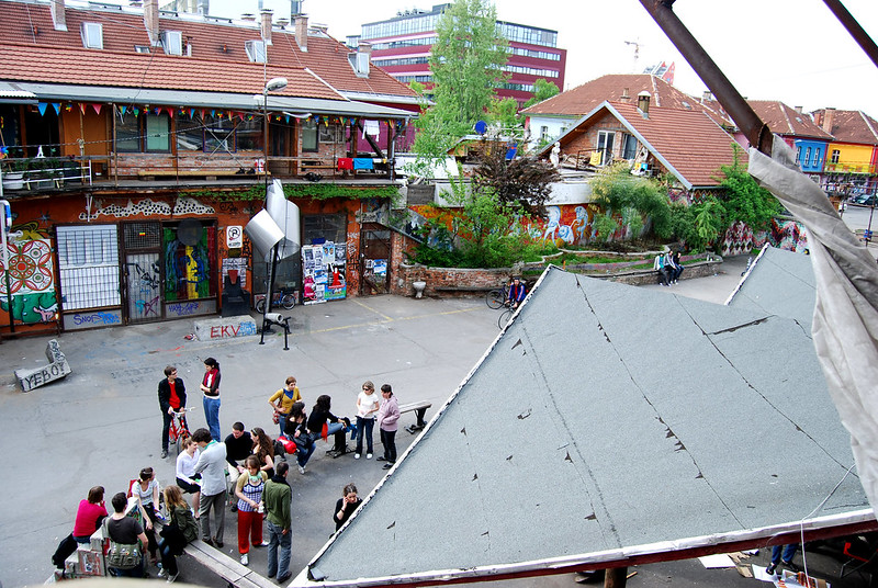 SLOVENIA: NGOs Facing Eviction From Metelkova Claim Jansa Wants Them Silenced