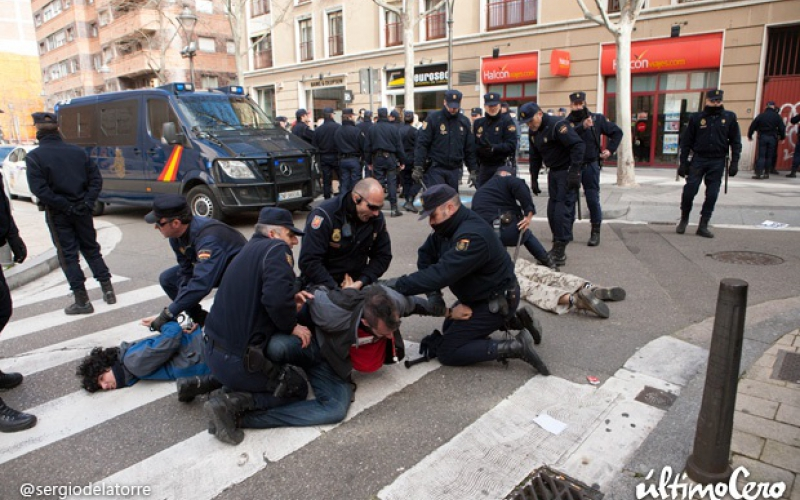 SPAIN – European Court rules against Spain for police attack on peaceful protesteprrs in 2014