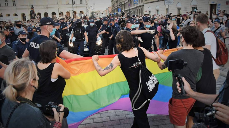 POLAND: Bill banning LGBT parades submitted to Polish parliament