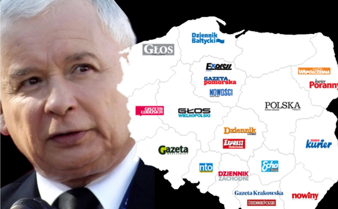 POLAND: Concern on press freedom after state-run oil company buys leading media group