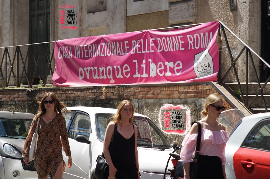 ITALY: Solidarity to Casa internazionale delle donne (International Women's House) evicted after more than 30 years of work