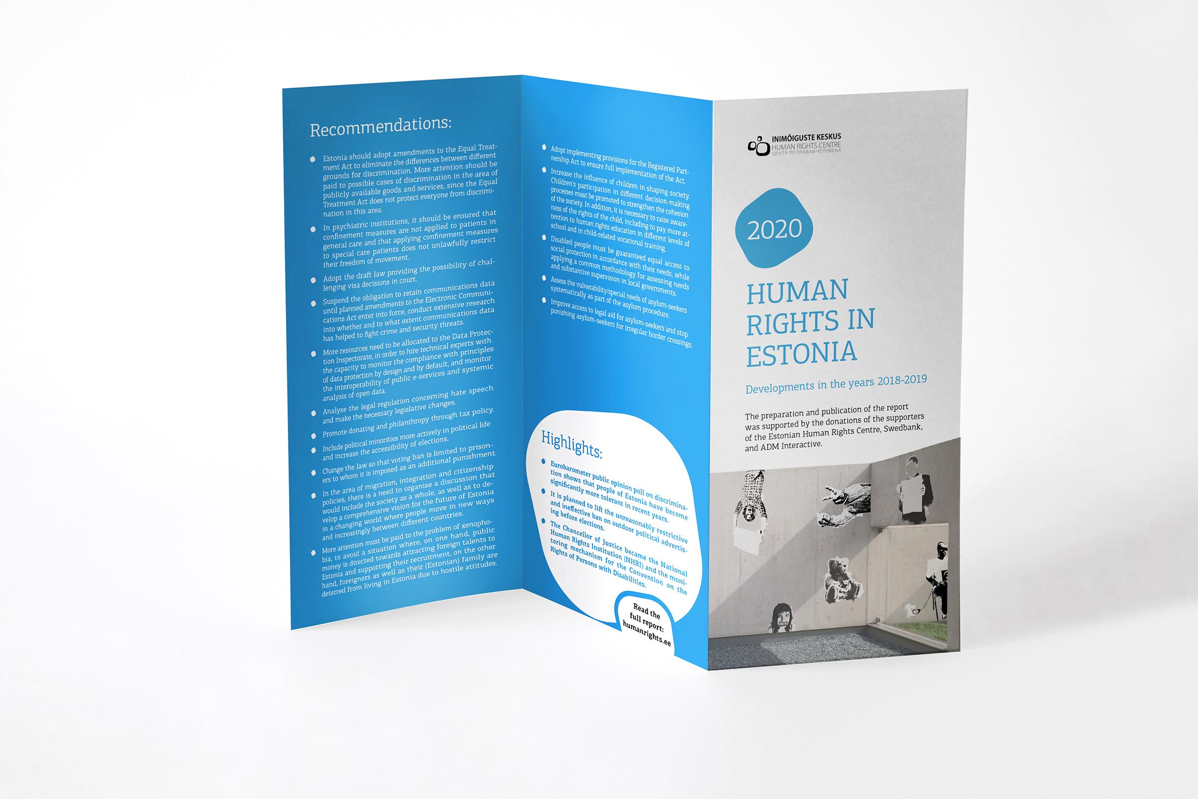 ESTONIA: 2020 Report on Human Rights