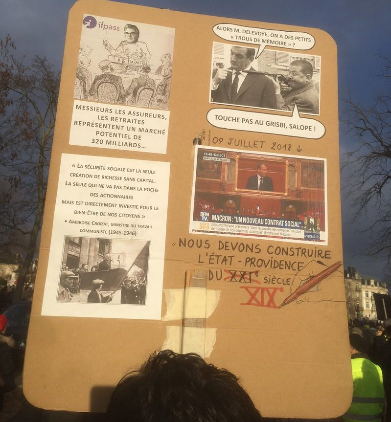 FRANCE: A new type of conflict – the ongoing struggle for pensions