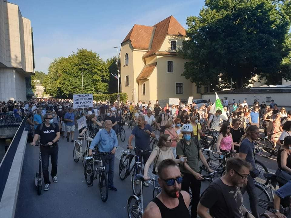 SLOVENIA: Peaceful assembly and media freedom strained under Janša's government