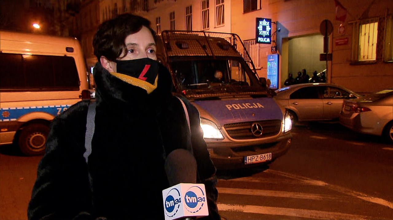 POLAND: Klementyna Sukhanov detained for one day following protests