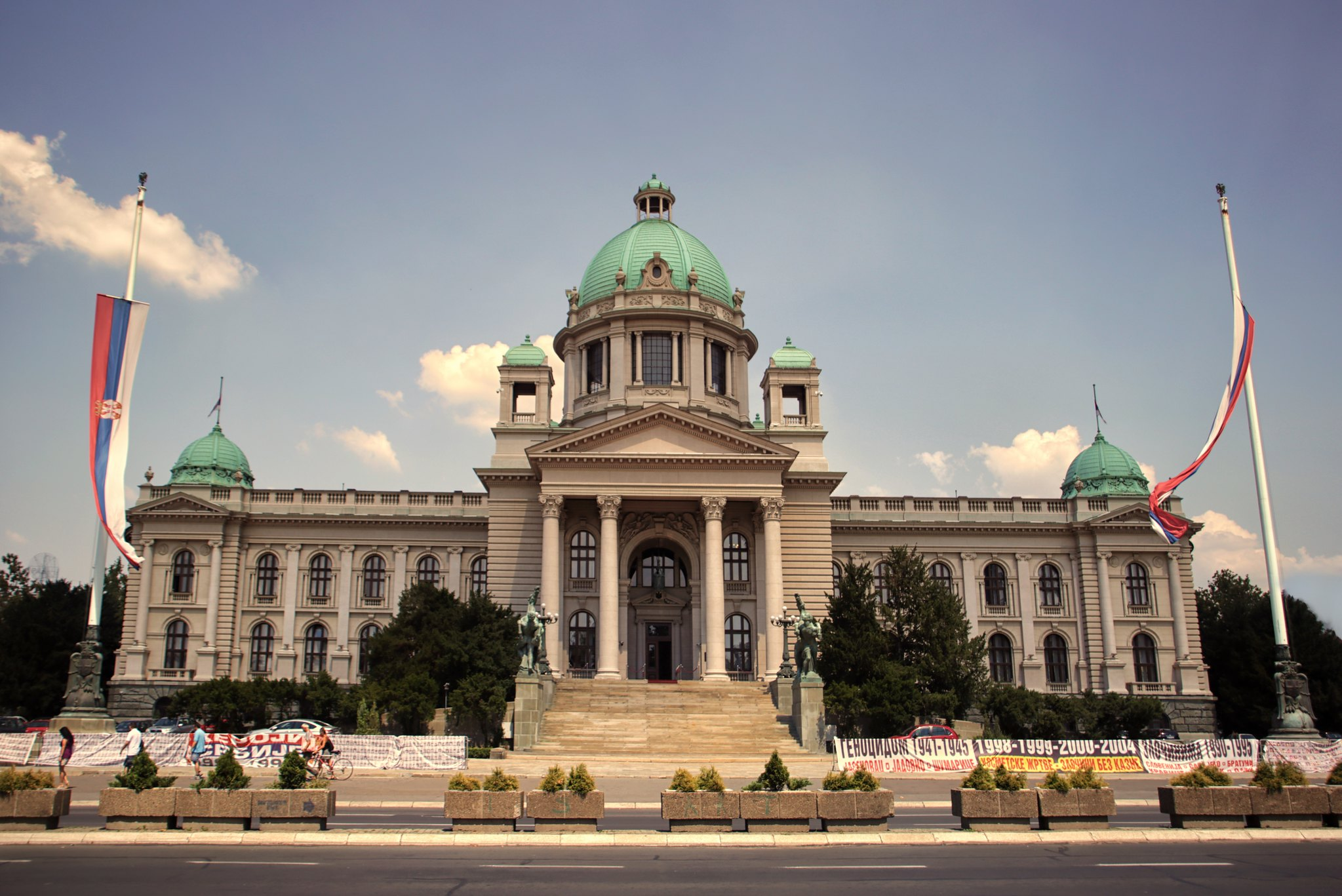 SERBIA: The criminalisation of civil society