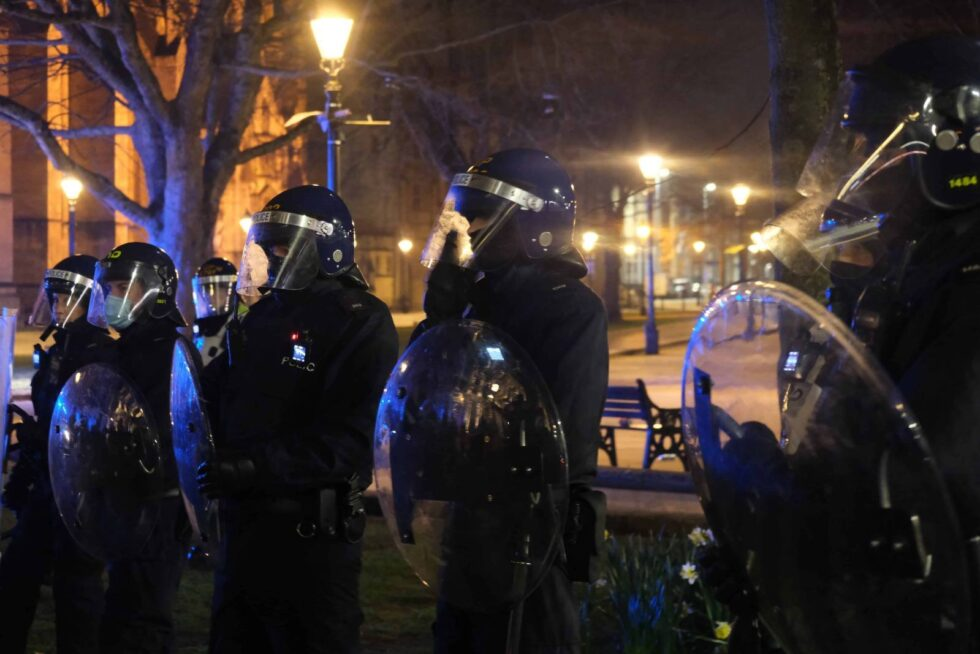 UNITED KINGDOM: Figures reveal scale of Bristol protesters injured by police